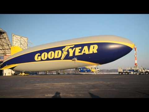 Más impactante, nuevo dirigible de Goodyear