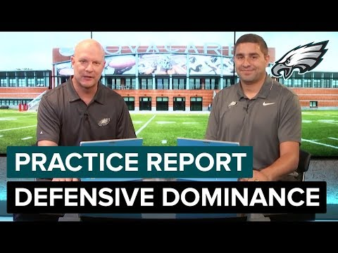 Eagles Defense Continues To Dominate | Eagles Practice Report