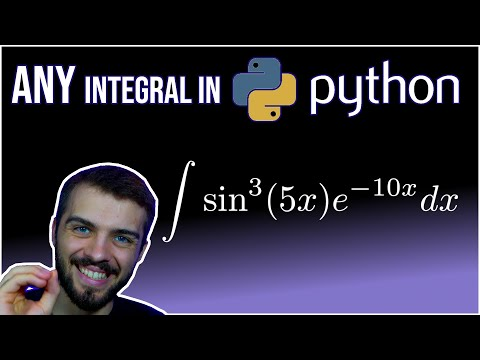 Integration in Python (Symbolic AND Numeric)