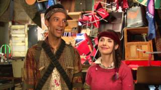Community: Danny Pudi & Alison Bree Talk about Geothermal Escapism Episode