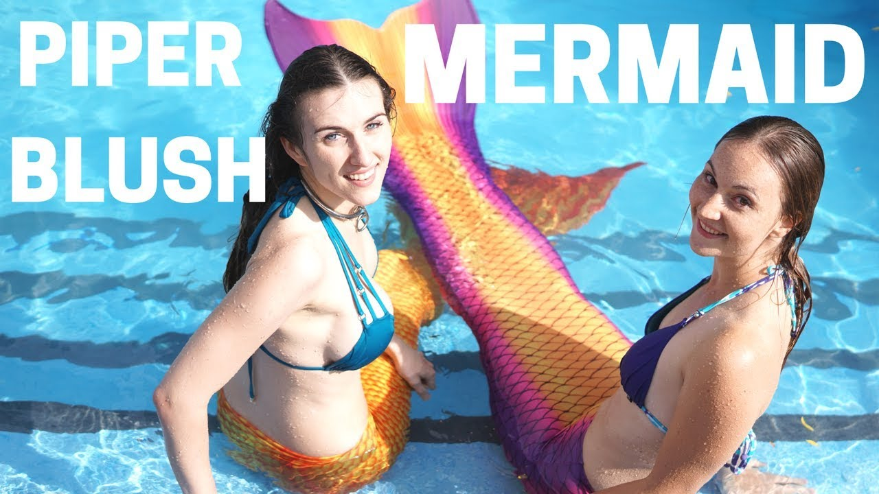 Sexy Mermaid Challenge with Piper Blush  YouTube