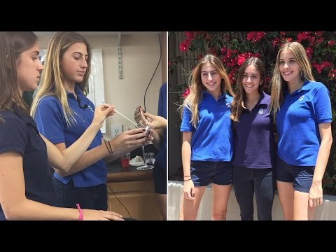 3 High School Teens Invent Straw That Could Detect Common Date Rape Drugs
