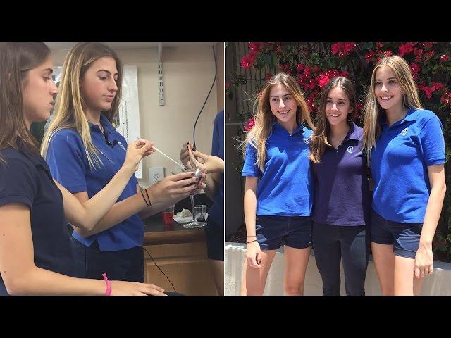Tres estudiantes inventan una pajita que detecta droga en la bebida