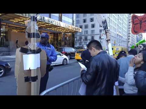 Manhattan Immigration Protest(2)