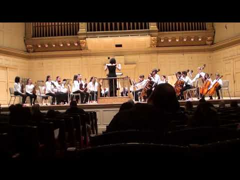 Wayland Middle School Honors Chamber Orchestra