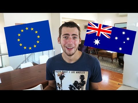 5 Differences Between EUROPE And AUSTRALIA!