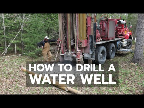 Watch a Water Well Being Drilled