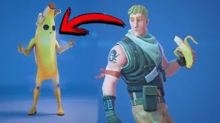 THAT'S HOW BANANA FORTNITE SKIN WAS CREATED