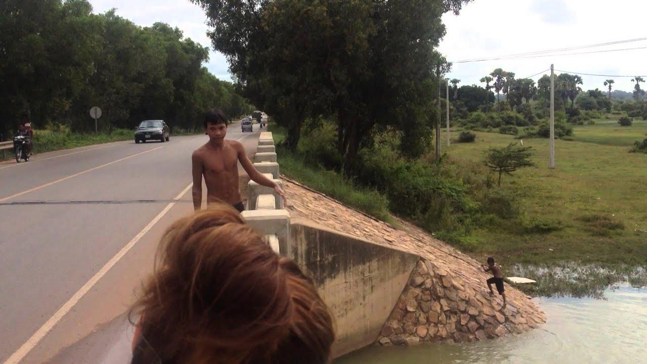 SWIMMING IN CAMBODIA | Jan Baracz