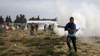 Yunanistan'ın Makedonya sınırında sert müdahale