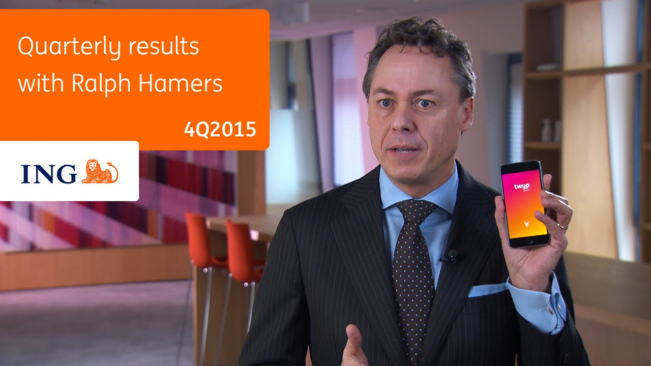 Full Year Results  With Ing Ceo Ralph Hamers  Subtitles Available Youtube