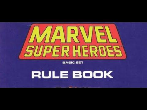 Marvel Super Heroes RPG (FASERIP) - Random Character Generation