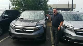 2019 Honda Pilot for Rafael from Brandon Crawley at Tameron Honda