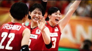 古賀紗理那 Sarina Koga Japan vs Dominican Republic 2018 FIVB World Championship