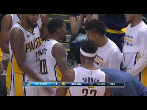 Orlando Magic vs Indiana Pacers | January 1, 2017 | NBA 2016-17 Season