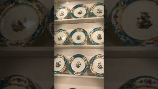 Plate collection in Waddesdon Manor