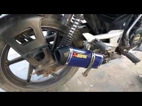 Pulser 150 exhaust sound....