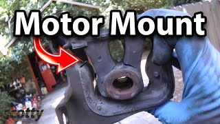 Video How to Replace a Motor Mount in Your Car download MP3, 3GP, MP4, WEBM, AVI, FLV Juli 2018