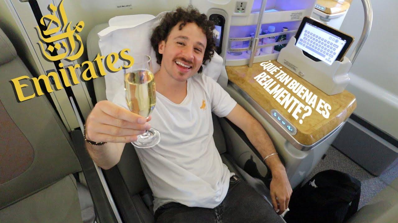 Volé con la aerolínea más costosa EMIRATES  ???? ¿Vale la pena pagar TANTO? ????️