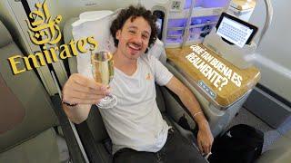 Volé con la aerolínea más costosa EMIRATES  💸 ¿Vale la pena pagar TANTO? 🛩️