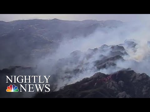 New Concerns Over Toxic Smoke As California Wildfire Death Toll Rises | NBC Nightly News