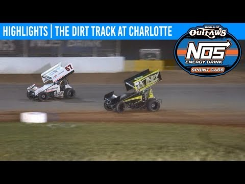 World of Outlaws NOS Energy Drink Sprint Cars The Dirt Track