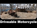 Fallout 4 Mods - Driveable Motorcycle