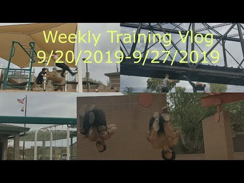 Parkour, Dance, Acrobatics and Movement Weekly Training Vlog 9/28/2019
