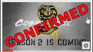 Cobra Kai Season 2 is CONFIRMED For 2019
