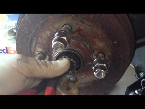 Volkswagen Rear Brake Drum Issues - YouTube