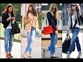 casual jeans with blazers for women trend 2017