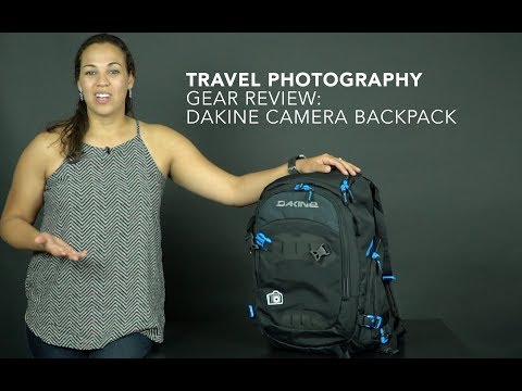 Travel Photography Gear: Dakine Camera Backpack:Yesenia Bocanegra