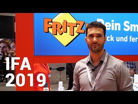 IFA 2019 - AVM: Neue DECT Lampe, weitere Smarthome Geräte und kurze Eindrücke