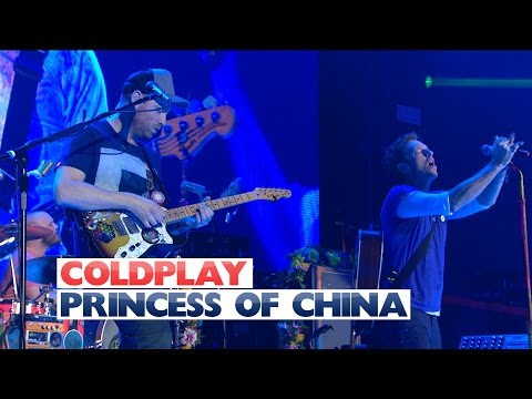 Coldplay - 'Princess Of China' (Live At The Jingle Bell Ball 2015)