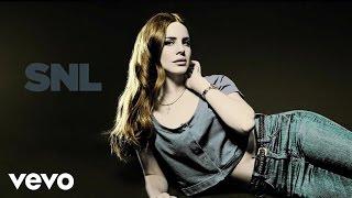 Lana Del Rey Blue Jeans Live On Snl