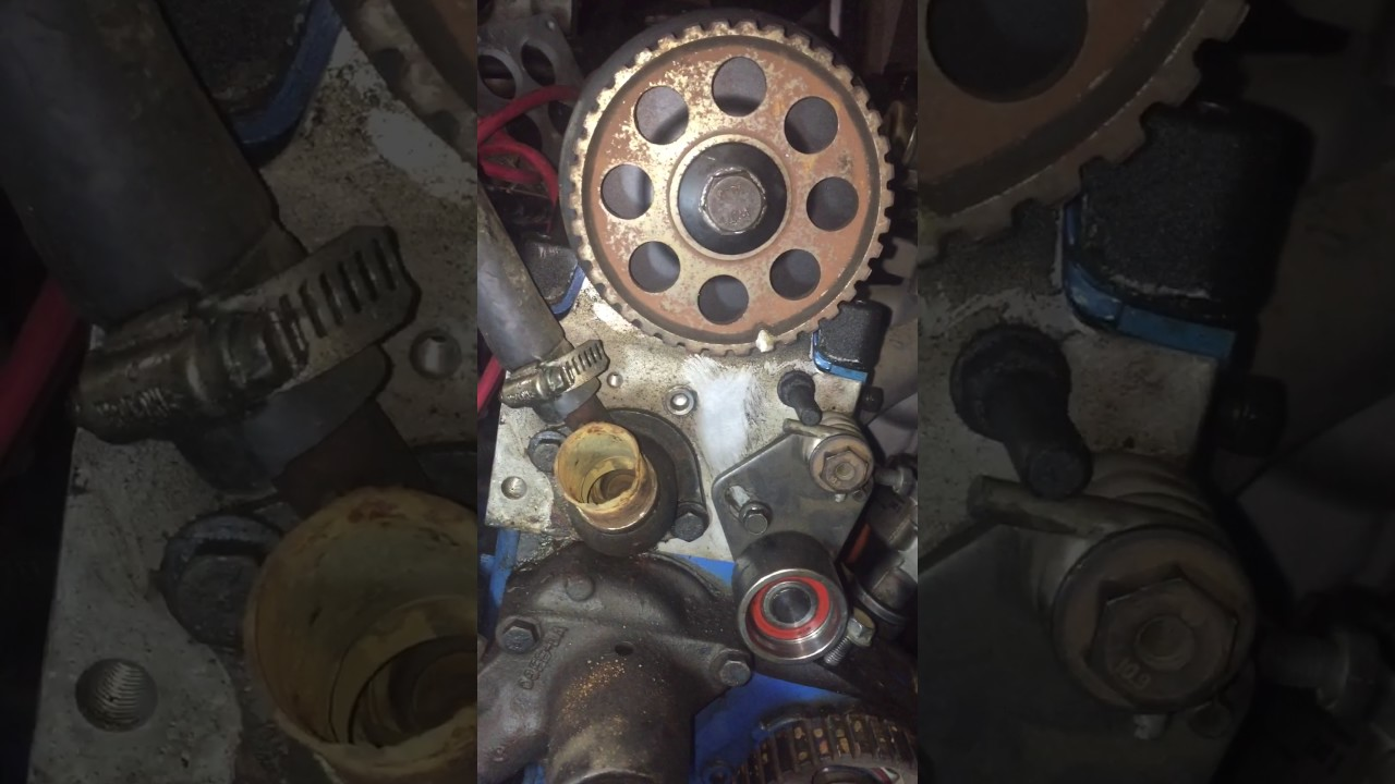 small resolution of svo setting timing belt step 2 ford merkur 2 3 pinto turbo thunderbird