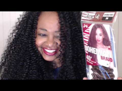Bold Bodacious Banging Bohemian Crochet Braids Using Zury 40