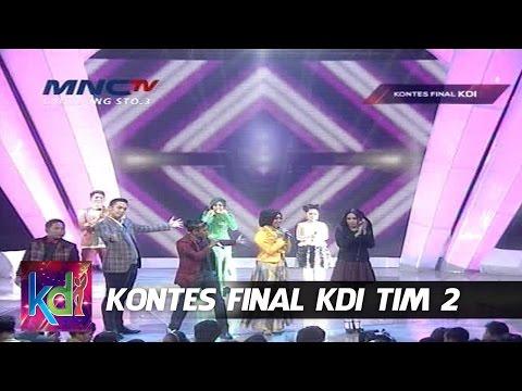 Unjuk Gigi Khairat, Mahesya, Ayudia dan Risti - Kontes Final KDI Tim 2 (18/5)