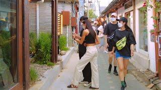 【4K】익선동 종로 산책 | Popular narrow…