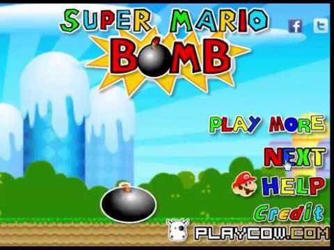 super mario bomb gameplay youtube