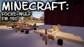 Minecraft: Focke-Wulf FW190 Tutorial