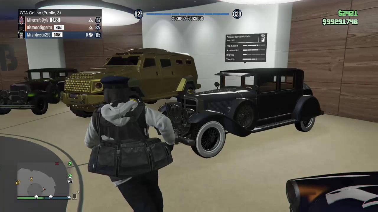 12 Car Garage gta v online import/export- 60 car garage showcase - youtube