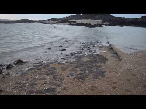 Grande marée Saint-Malo, marée montante au petit bé.