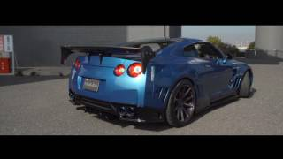 Nissan GTR Skipper Tuning   Wide Body   Vossen 20 VFS1 4K