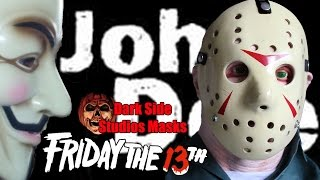 LTDJD (Vol 33) : Dark Side Studios Friday The 13th Jason Vorhees Mask - Review - Unboxing