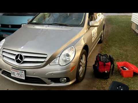 Mercedes Door panel removal Window Switch repair W164 W251 GL320 ML350 R320 R350 R500 06-12