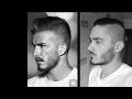 Movie Star Beards    David Beckham beard - Tutorial How to Trim