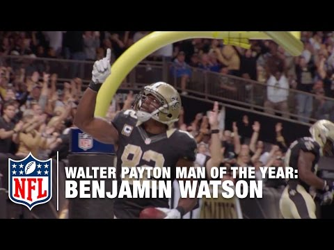 Benjamin Watson: 2015 NFL Walter Payton Man of the Year Finalist | NFL