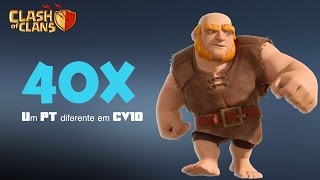 Clash of Clans - 40 gigas e um PT TOP - Guerra CV 10