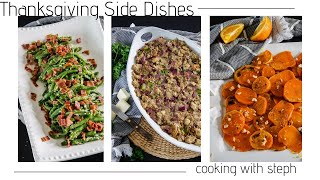 Thanksgiving Side Dishes/ a palette of delicious